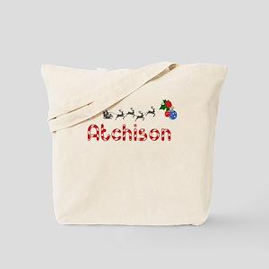 Atchison, Christmas Tote Bag