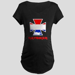 Dutch ratbiker Maternity Dark T-Shirt