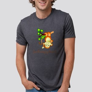 2-JustMonkeyingAround Mens Tri-blend T-Shirt