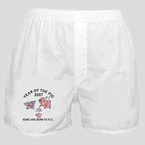 Some Are Born To Fly Boxer Shorts