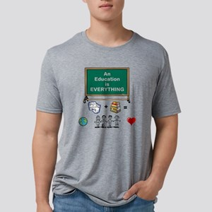 An Education is Everything Mens Tri-blend T-Shirt
