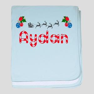 Aydan, Christmas baby blanket