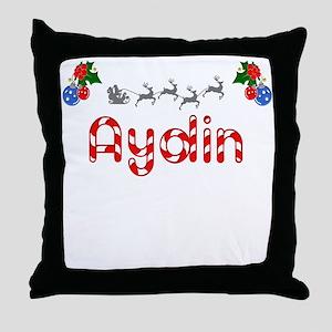 Aydin, Christmas Throw Pillow