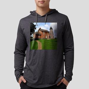 Charlotte-GeneseeLighthouse5.25x Mens Hooded Shirt