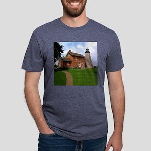 Charlotte-GeneseeLighthouse Mens Tri-blend T-Shirt