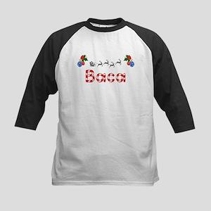 Baca, Christmas Kids Baseball Jersey