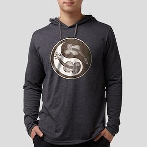 vioyin-yang-brn-T Mens Hooded Shirt