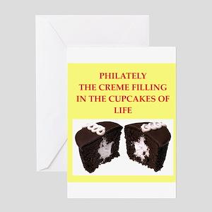 philately Greeting Card