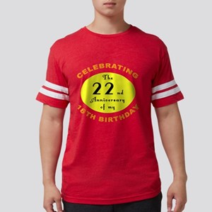 anniversay 40 Mens Football Shirt