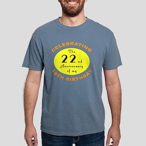 anniversay 40 Mens Comfort Colors Shirt