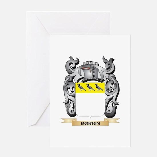 Corbin Family Crest - Corbin Coat o Greeting Cards