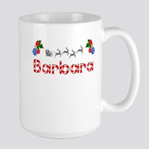 Barbara, Christmas Large Mug