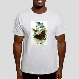 Velvet Bouquet Ash Grey T-Shirt