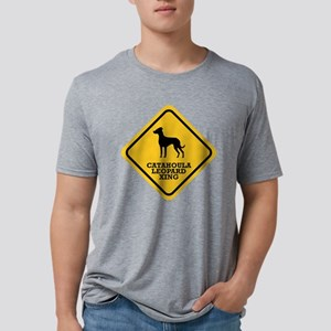 15-Louisiana-Catahoula-Leop Mens Tri-blend T-Shirt