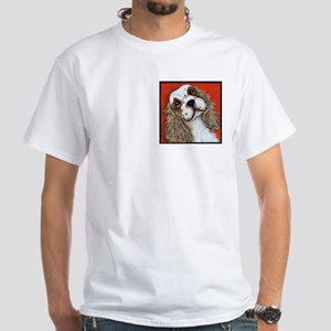 Cocker Spaniel White T-Shirt