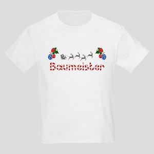 Baumeister, Christmas Kids Light T-Shirt