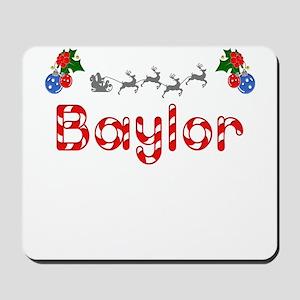 Baylor, Christmas Mousepad