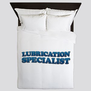 LUBRICATION SPECIALIST Queen Duvet