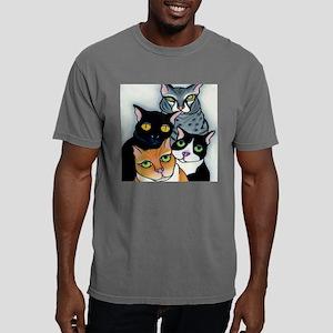 Betsy cats tile art Mens Comfort Colors Shirt