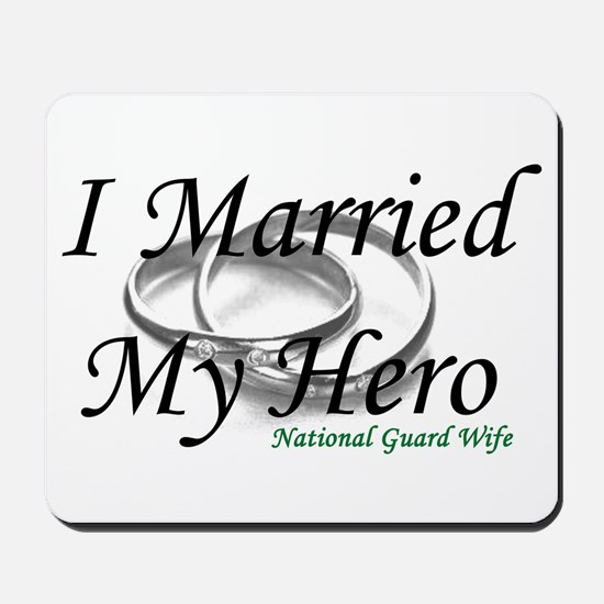 I Married My Hero, NG WIFE Mousepad