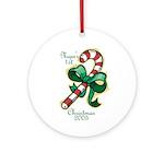 Megan's 1st Christmas 2005 Ornament (Round)