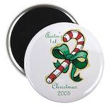 Austin's 1st Christmas 2005 Magnet