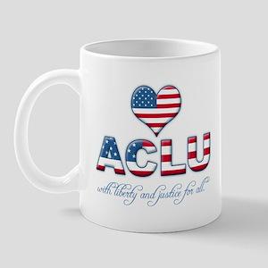 I <3 ACLU Mug