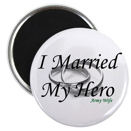 I Married My Hero, ARMY WIFE Magnet