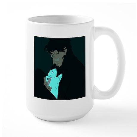 Sherlock and Bluebell Large Mug