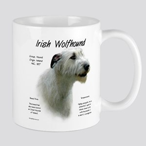 Irish Wolfhound (white) 11 oz Ceramic Mug
