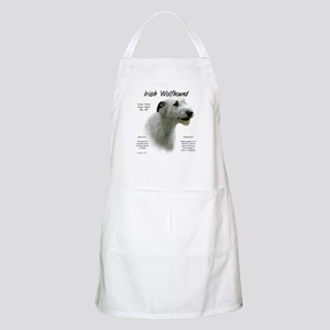 Irish Wolfhound (white) Light Apron