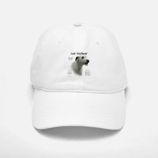 Irish Wolfhound (white) Baseball Baseball Cap