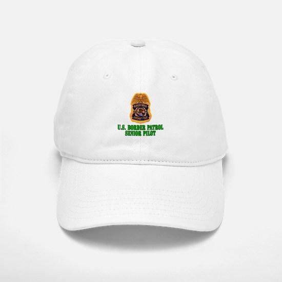 Border Patrol Pilot Baseball Baseball Cap