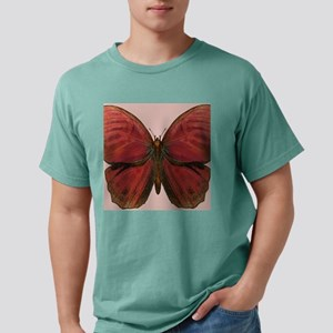 Red Rooster Butterfly Mens Comfort Colors Shirt
