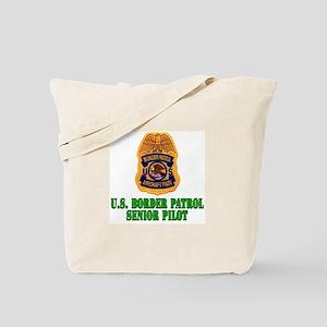 Border Patrol Pilot Tote Bag