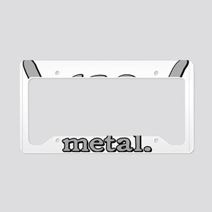 M FOR METAL License Plate Holder
