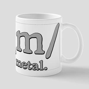 M FOR METAL Mug