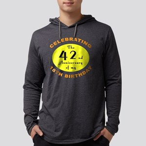 2-anniversay 60 Mens Hooded Shirt