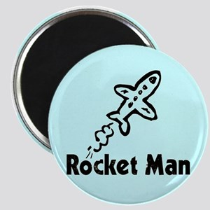 Rocket Man Magnet