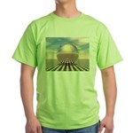 Checker Ball Green T-Shirt