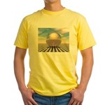 Checker Ball Yellow T-Shirt