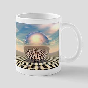 Checker Ball Mug