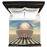 Checker Ball King Duvet
