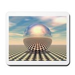 Checker Ball Mousepad