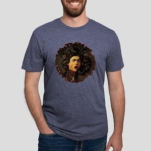 medusablack Mens Tri-blend T-Shirt