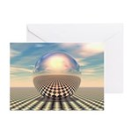 Checker Ball Greeting Cards (Pk of 10)