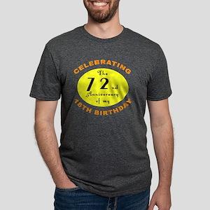 2-anniversay 90 Mens Tri-blend T-Shirt