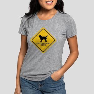 15-Otterhound Womens Tri-blend T-Shirt