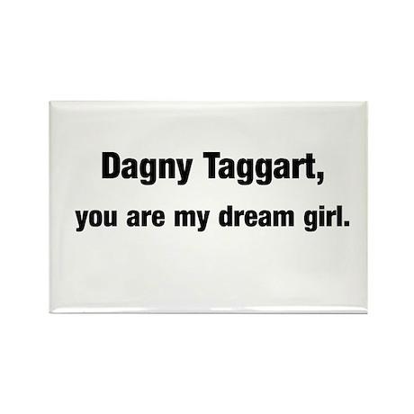 Dagny dream girl Rectangle Magnet