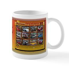 2013 STAMPEDE Mustang coffee mug